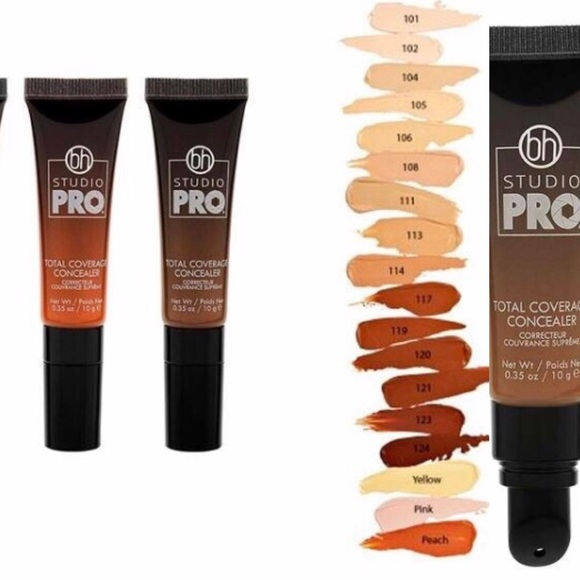 BH Cosmetics Other - bh STUDIO PRO Total Coverage Concealer Shade 120
